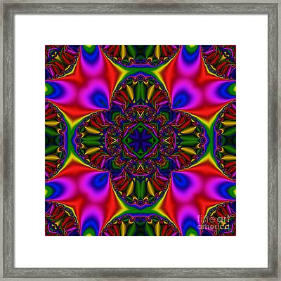 Abstract 612 Framed Print by Rolf Bertram