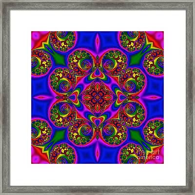 Abstract 618 Framed Print by Rolf Bertram