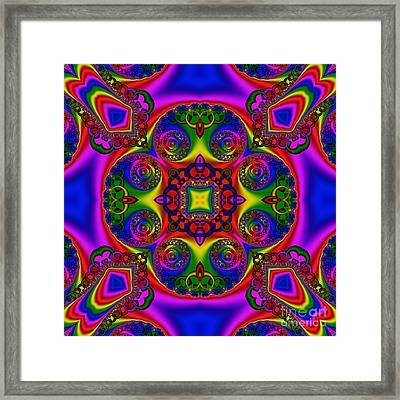 Abstract 620 Framed Print by Rolf Bertram