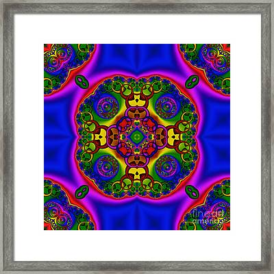 Abstract 621 Framed Print by Rolf Bertram