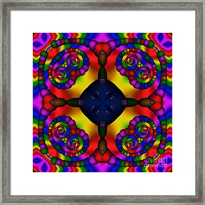 Abstract 650 Framed Print by Rolf Bertram