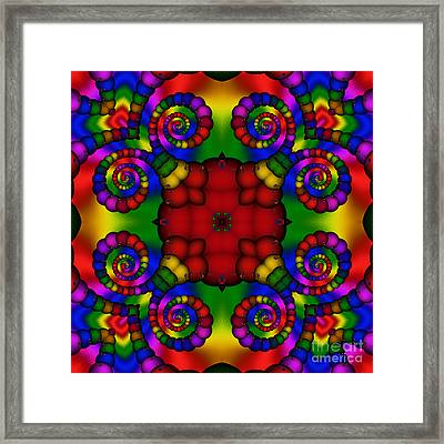 Abstract 651 Framed Print by Rolf Bertram