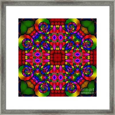 Abstract 652 Framed Print by Rolf Bertram