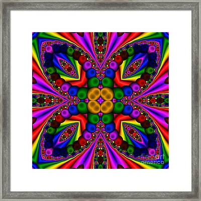 Abstract 659 Framed Print by Rolf Bertram