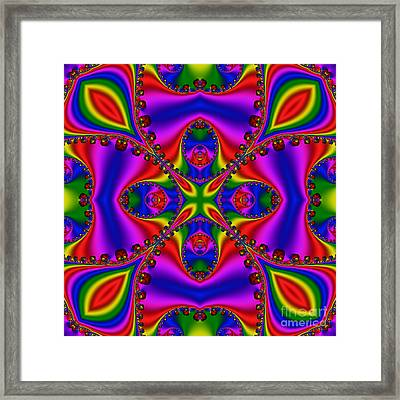 Abstract 663 Framed Print by Rolf Bertram