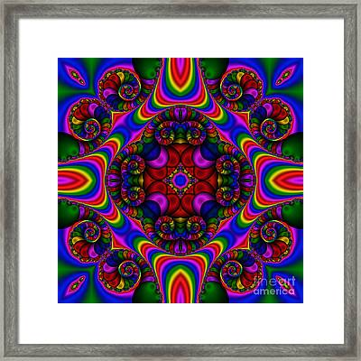 Abstract 667 Framed Print by Rolf Bertram