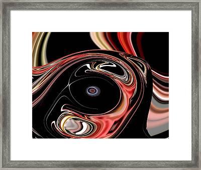 Abstract 7-26-09-b Framed Print by David Lane