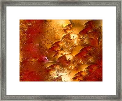 Abstract 70 Framed Print by Pamela Cooper