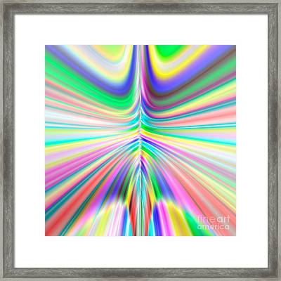 Abstract 701 Framed Print by Rolf Bertram