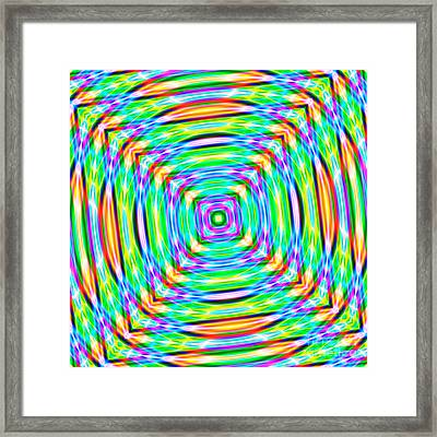 Abstract 709 Framed Print by Rolf Bertram