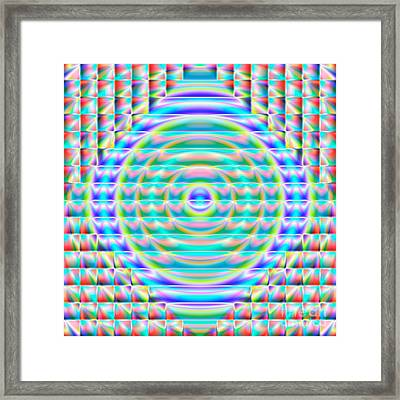 Abstract 717 Framed Print by Rolf Bertram