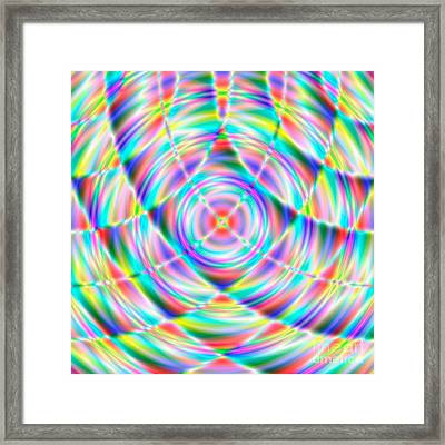 Abstract 722 Framed Print by Rolf Bertram