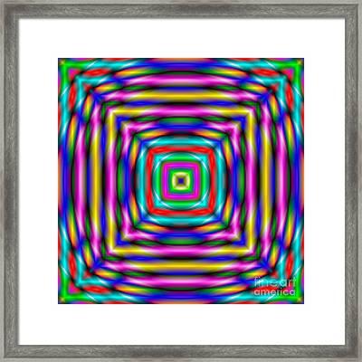 Abstract 727 Framed Print by Rolf Bertram