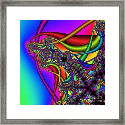 Abstract 73 Framed Print by Rolf Bertram