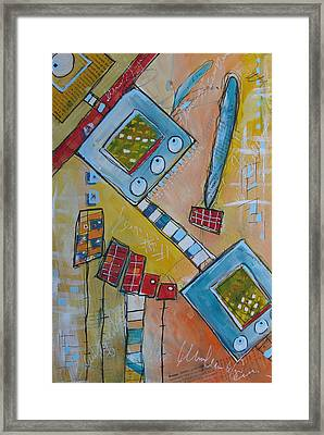 Abstract 74 Framed Print