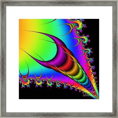 Abstract 77 Framed Print by Rolf Bertram
