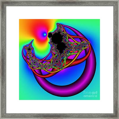 Abstract 79 Framed Print by Rolf Bertram
