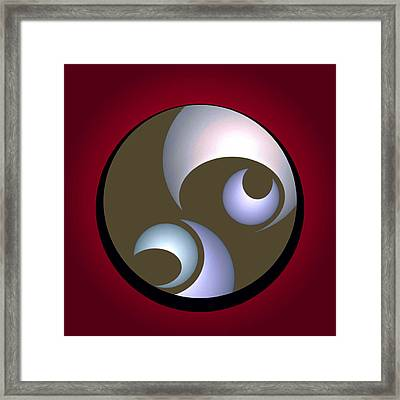 Abstract 8 2017 Framed Print