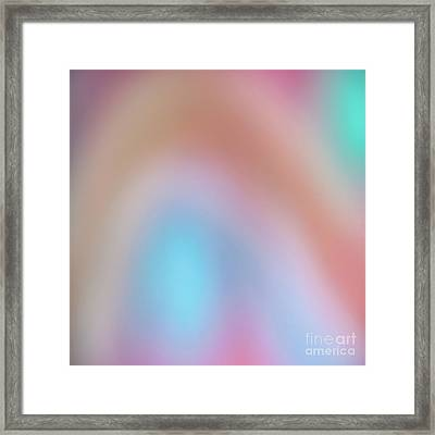 Abstract 8 Framed Print by Janet Burdon