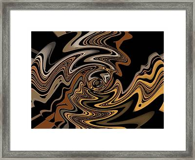 Abstract 9-11-09 Framed Print by David Lane