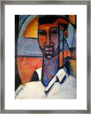 Abstract African Framed Print