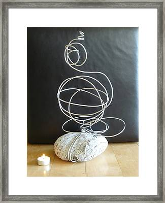 Abstract Aluminum Framed Print by Live Wire Spirit