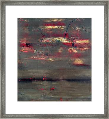 Abstract America   Framed Print by Antonio Ortiz