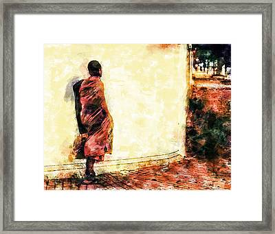 Abstract And Bold Framed Print