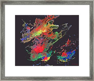 Abstract Andromeda Framed Print