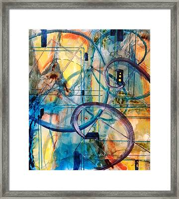 Abstract Appeal Framed Print