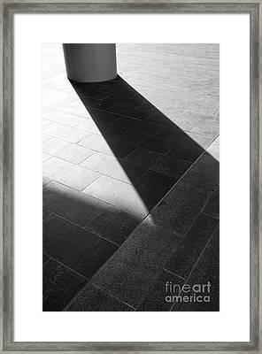 Abstract Architectural Shadows Framed Print by Emilio Lovisa
