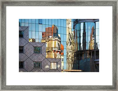 Abstract Architecture Framed Print by Teemu Tretjakov