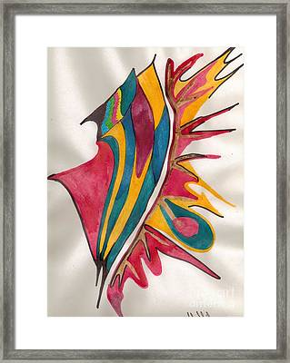 Abstract Art 102 Framed Print