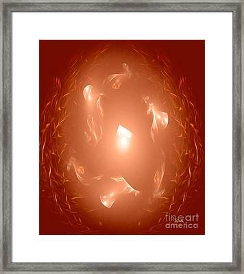 Abstract Art - An Inside Job By Rgiada Framed Print by Giada Rossi