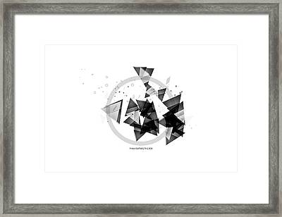 Abstract Art Geometric Shapes No 2 Framed Print