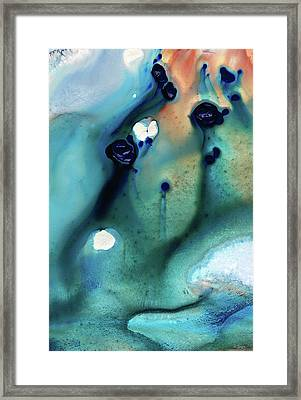 Abstract Art - Hands To Heaven - Sharon Cummings Framed Print