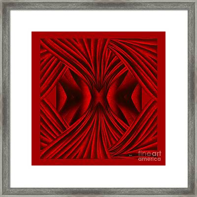 Abstract Art - Hot Secrets By Rgiada Framed Print by Giada Rossi