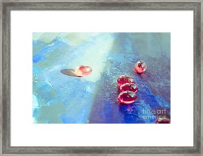 Abstract Art Framed Print by Irina Effa