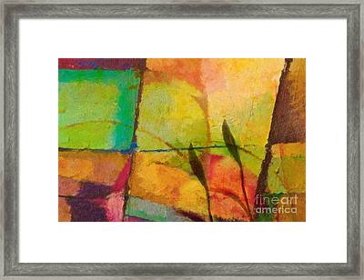 Abstract Art Primavera Framed Print by Lutz Baar