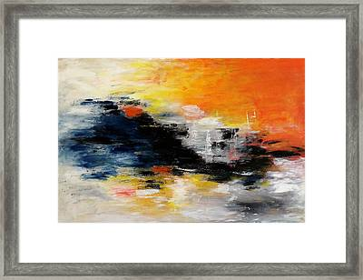 Abstract-art Framed Print