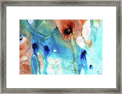 Abstract Art - The Journey Home - Sharon Cummings Framed Print by Sharon Cummings