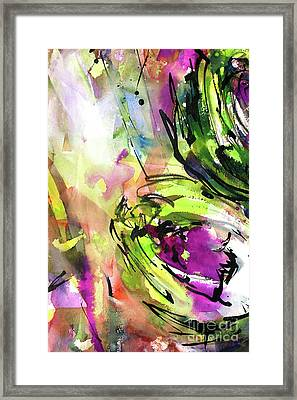 Abstract Arti 3 By Ginette Framed Print