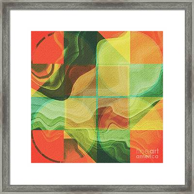 Abstract Artwork Framed Print by Gaspar Avila