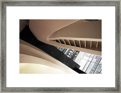 Abstract Ascent  Framed Print by Jessica Jenney