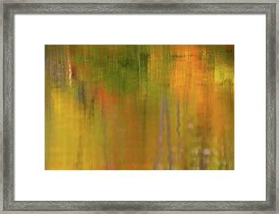 Minimalism Autumn  Framed Print by Gregory Ballos