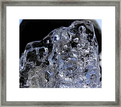 Framed Print featuring the photograph Abstract Bear by Sami Tiainen