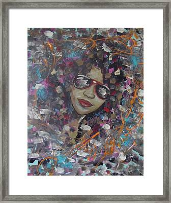 Abstract Beauty Framed Print