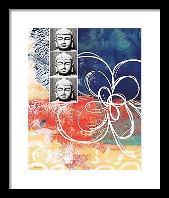 Religious Mixed Media Framed Prints