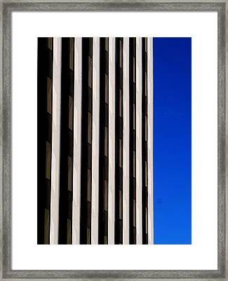 Abstract Building 2011 Framed Print