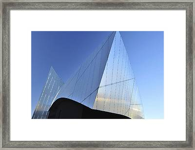 Abstract Building Framed Print by Marek Stepan